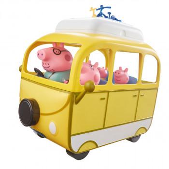 Prasátko Peppa Velký karavan s rodinkou