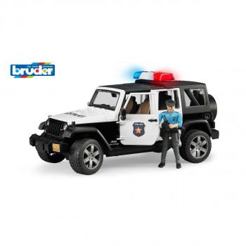 Bruder 2526 Jeep Wrangler Rubicon Policie s policistou