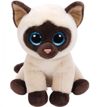 TY Beanie Babies JADEN plyšová siamská kočka