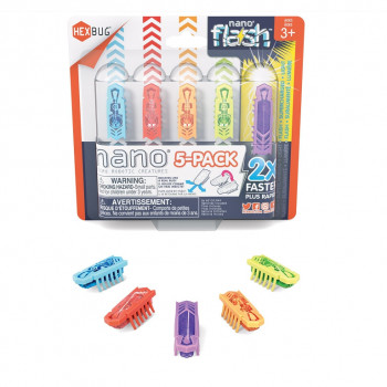 HEXBUG Nano 5pack - Nano + 1 Flash
