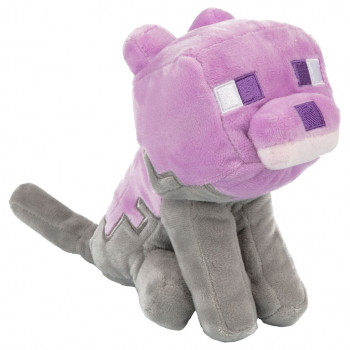 Minecraft Earth Dyed Cat Plush
