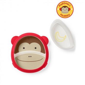 Zoo 2v1 - talíř a miska opička