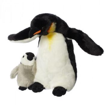 Hamleys plyšový tučňák s mládětem