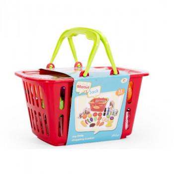 Hamleys Dětský nákupní košík s jídlem