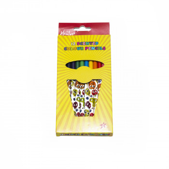 Hamleys Sada 12 barevných pastelek