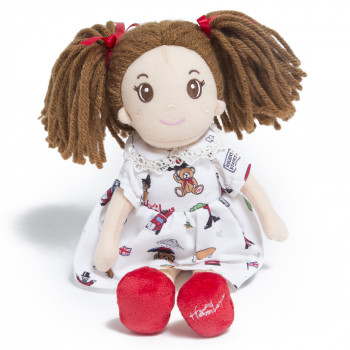 Textilní panenka Charlotte