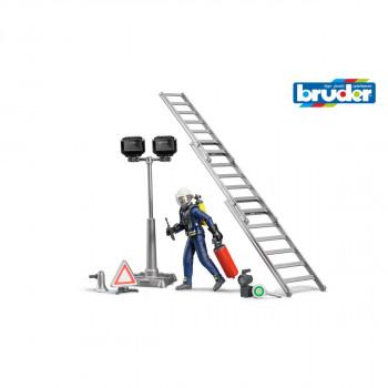 Bruder 62700 Figurka Hasič s příslušenstvím