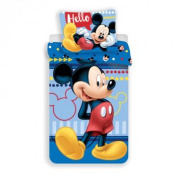 """Jerry Fabrics Povlečení Mickey """"004 Hello"""" 140x200 cm"""