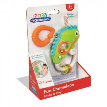 Interaktivní chrastítko Chameleon Clementoni