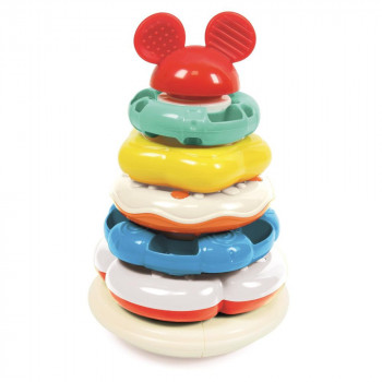 Mickey kroužková pyramida Clementoni