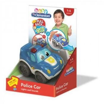 Policejní auto na setrvačník Clementoni
