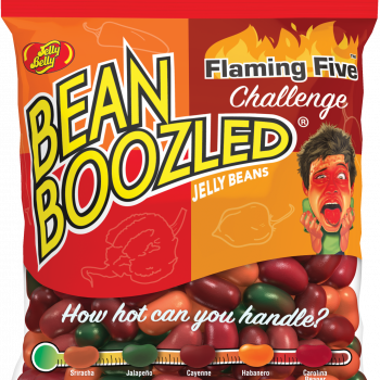 Jelly Belly BeanBoozled Flaming Five 54g sáček