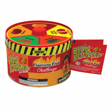 BeanBoozled Flaming Five plechovka 95g Ruletka