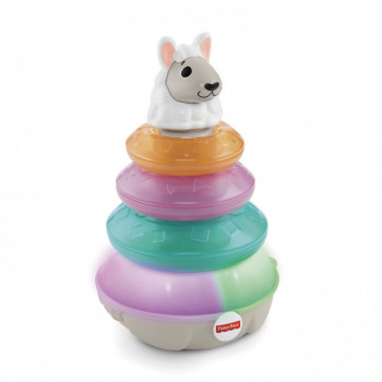 Fisher-Price Linkimals mluvící lama s kroužky CZ