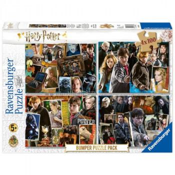 Harry Potter set 4x100 dílků