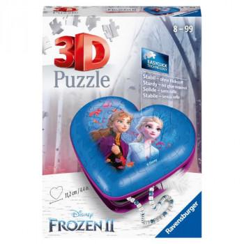 3D Srdce Disney Ledové království 2 54 dílků