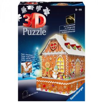 3D Perníková chaloupka 216 dílků