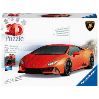 3D Lamborghini Huracan Evo 108 dílků