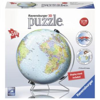 3D Globus (anglický) 540 dílků