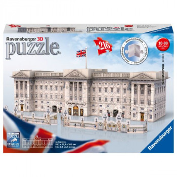 Ravensburger 3D puzzle Buckinghamský palác Londýn 216 ks