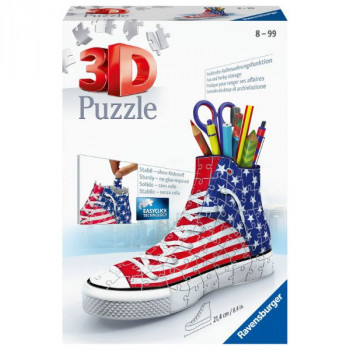 3D Kecka - vlajkový design 108 dílků