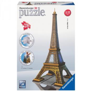 3D Eiffelova věž 216 dílků