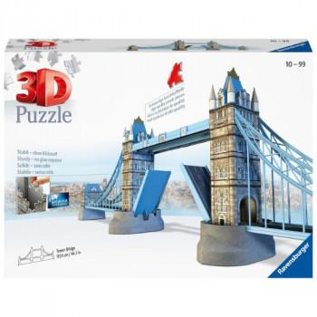3D Tower Bridge Londýn 216 dílků