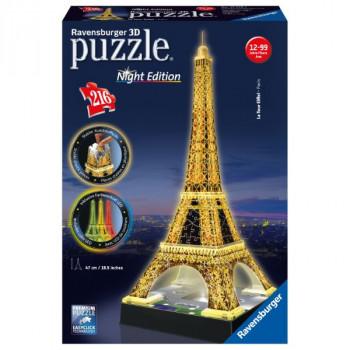 3D Eiffelova věž (Noční edice) 216 dílků