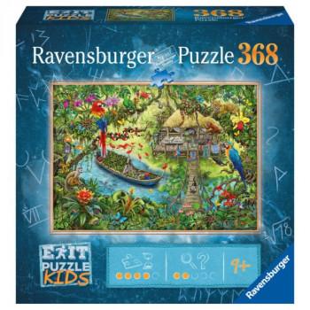 Ravensburger Exit KIDS: Džungle 368 dílků