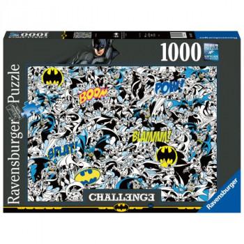 Batman Výzva 1000 dílků
