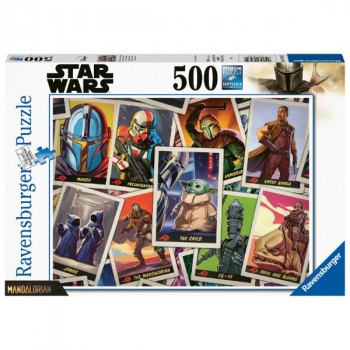 The Mandalorian - Baby Yoda 500 dílků