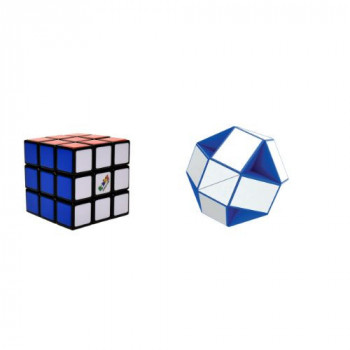 Rubikova kostka sada retro (snake + 3x3x3)