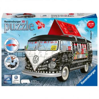 Ravensburger 3D Puzzle 125258 VW Autobus pojízdné občerstven