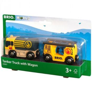 Brio Náklaďák s vagóny