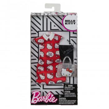 Barbie Tématické oblečky a doplňky - cervena