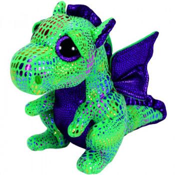 TY Beanie Boos CINDER plyšový zelený drak 24 cm