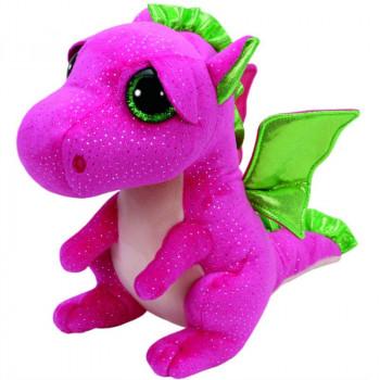 TY Beanie Boos DARLA plyšový růžový drak 24 cm
