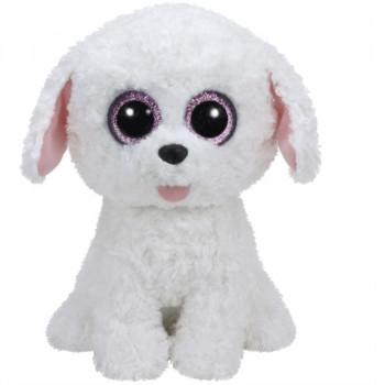TY Beanie Boos PIPPIE plyšový bílý pes 24 cm
