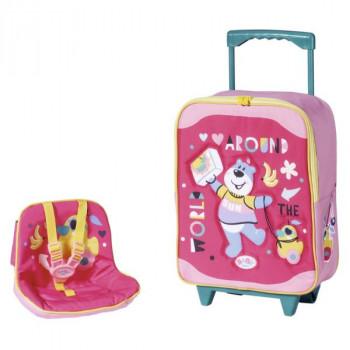 BABY born Cestovní kufřík se sedačkou pro panenky