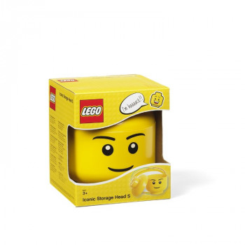 LEGO úložná hlava (velikost S) - chlapec