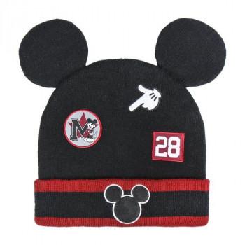 Zimní čepice Mickey s ušima