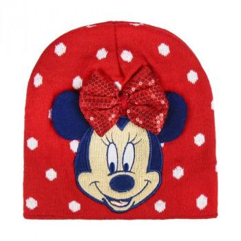 Zimní čepice Minnie Mouse