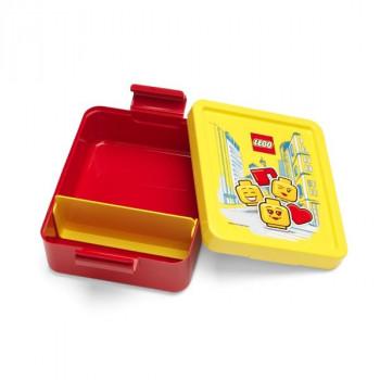 LEGO ICONIC Boy box na svačinu - modrá/zelená