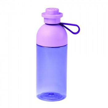 LEGO láhev transparentní - fialová