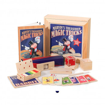 Marvin's Treasured Magic Tricks (Wooden Set)