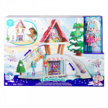 Mattel Enchantimals Horská chatka herní set
