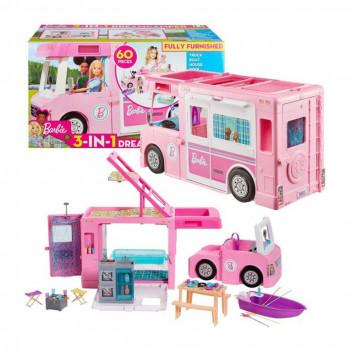Mattel Barbie Karavan snů 3v1