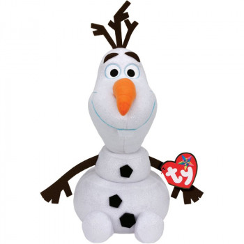 TY Beanie Babies Frozen plyšový Olaf 25 cm se zvuky