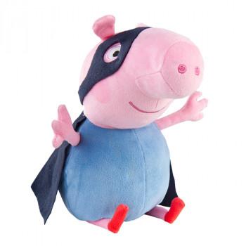 TY Beanie Babies plyšový Peppa Pig George Superhero 28 cm