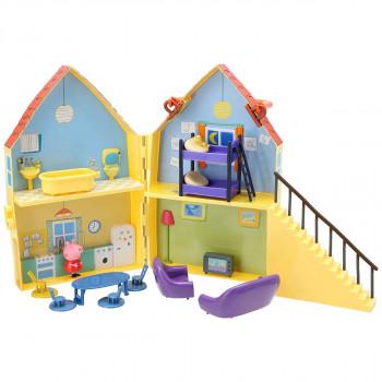 Prasátko Peppa domeček s figurkou a příslušenstvím